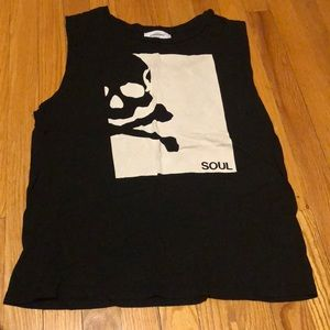 Soul cycle muscle tee
